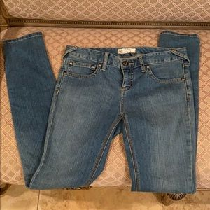 Free people skinny size 28 jeans